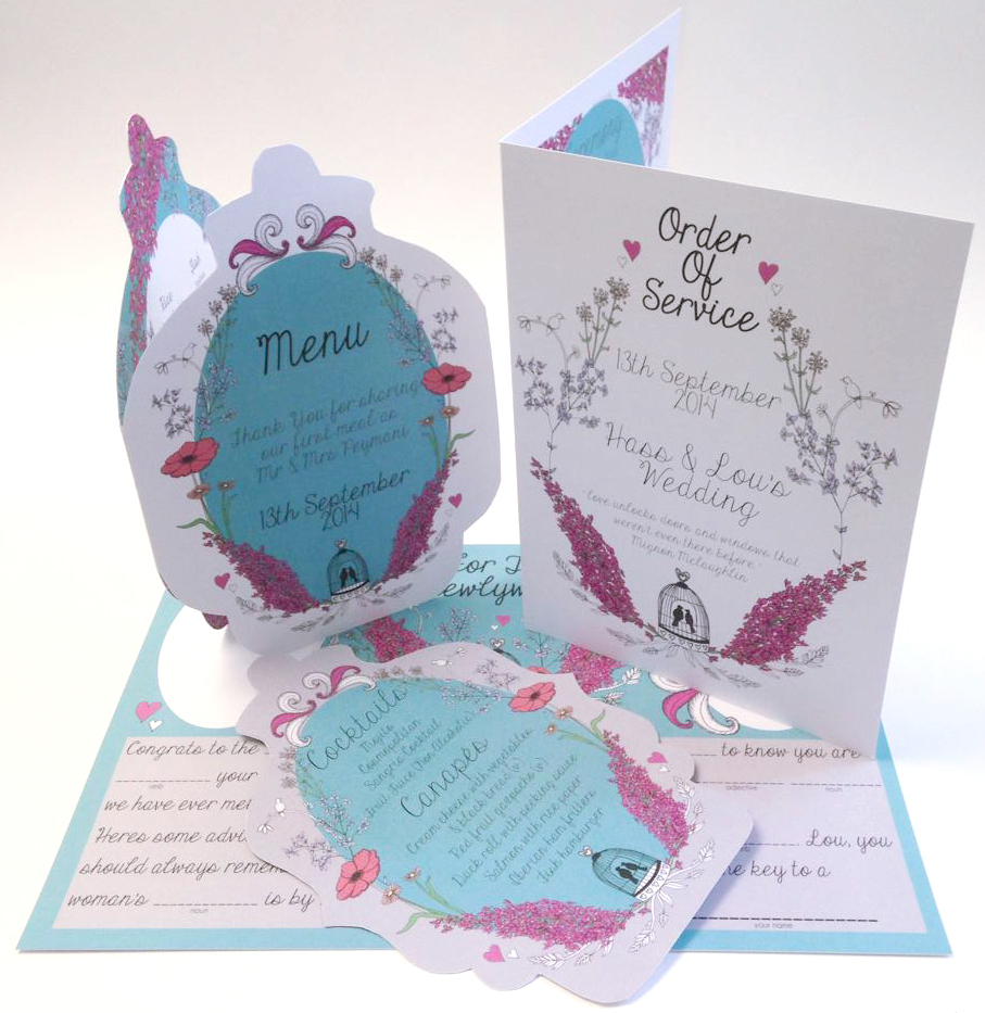 louise wedding stationery