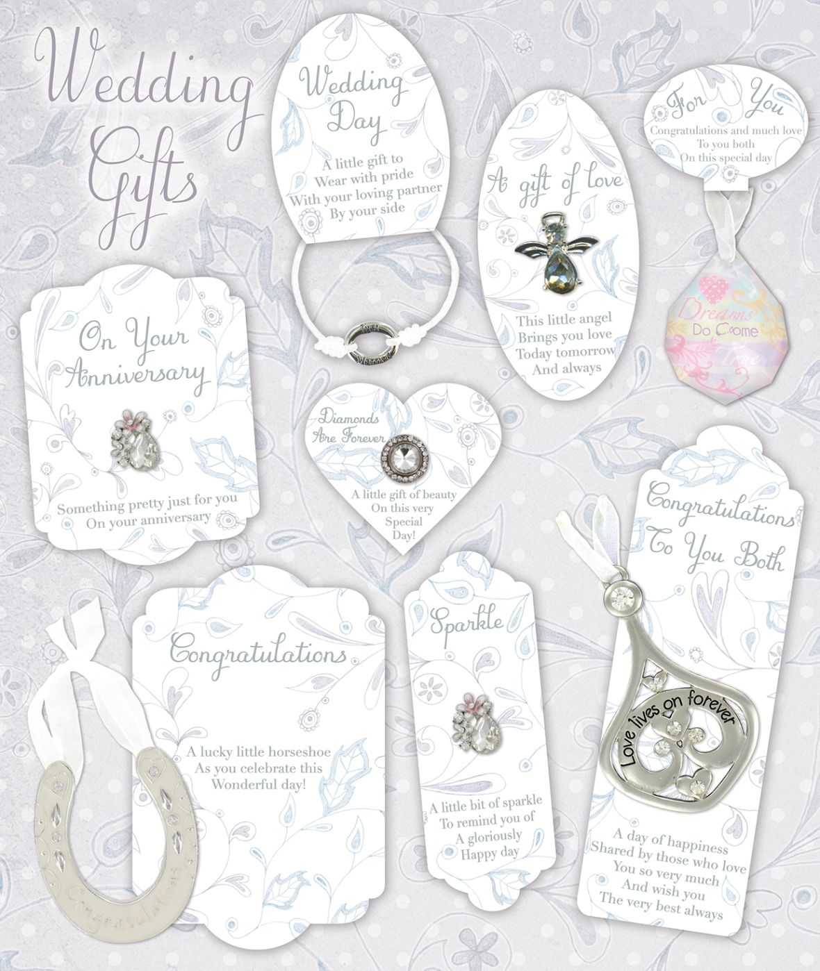wedding gifts selection